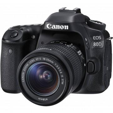 Canon EOS 80D DSLR Camera with 18-135mm USM Lens