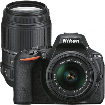 Nikon D5500 DSLR Camera With Lens 18-55MM