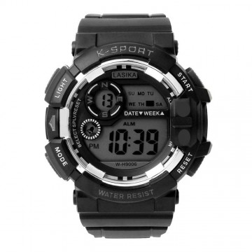 Digital Watch for Men - Black